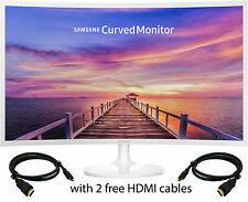 Samsung Curved 32 inch Computer Monitor 32F397 Gaming HD 32'' Refurbished