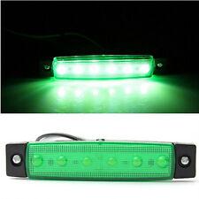 Top 12V 6 LED Side Marker Indicatorr Tail Stop Brake Light Super Bright LED Bulb