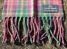 Tartan LOCHCARRON Écossais Royal Stewart aquarelles écharpe made in  Scotland. 2f53a41b563