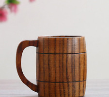Solid Wood Coffee Mug