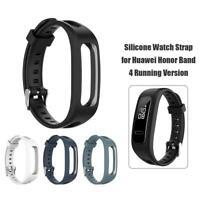 Silikon Uhrenarmband für Huawei Honor Band 4 Running Version / Huawei Band 3e