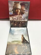 ALEXANDER THE GREAT AAND THE 300 SPARTANS 2 NEW SEALED DVDS FREE SHIPPING