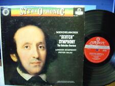 PETER MAAG Mendelssohn Scotch Symphony LP LONDON stereo FFSS CS 6191