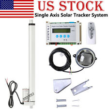 "Electric Solar Tracking Controller W/ 18"" Dc Linear Actuator Solar Panel Tracker"