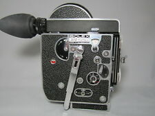 BOLEX REX-4 MOVIE CAMERA, PROFESSIONALLY SERVICED TESTED READY TO FILM! BEAUTY!