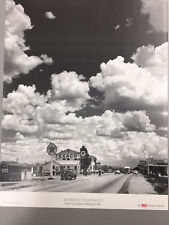 """""""TEXACO GAS STATION ON RT 66, 1947"""" BY A. FENINGER FOR LIFE MAG."""