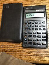 Very Nice Vintage Hp Hewlett Packard 32S Ii Rpn Scientific Calculator with case.