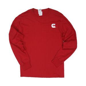 Cummins dodge diesel red long sleeve t shirt top NEW tee apparel SMALL