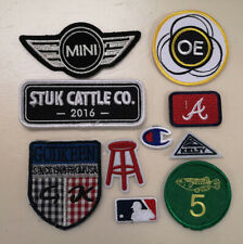New listing 10 Pieces Mixed Sew on/Iron On Embroidered Patch Diy Craft Clothes Applique mx3