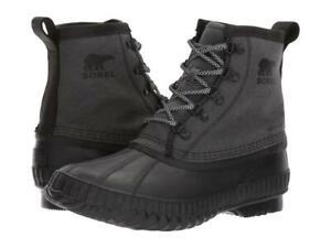 Men's Cheyanne™ II Short Canvas Boot - Black, Black
