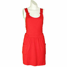 Topshop Patternless Mini Sleeveless Dresses for Women