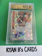 A.J. MCCARRON 2014 PANINI CONTENDERS CRACKED ICE ROOKIE AUTO 06/22 BGS 9.5/10