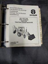 New Holland 455 7 8711 88 455c 12 888 92 455d 9 92 Tractor Loader Backhoe