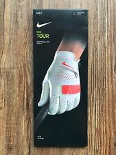 Nike Tour Golf Handschuh | left hand / linkshänder | weiß/rot | Gr. L | NEU