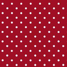 d-c-fix Sticky Back Plastic Self Adhesive Vinyl Wrap Polka Dot Red 45cm x 1m