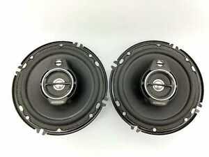 """KENWOOD KFC-1695PS 6 1/2"""" Round 3 Way Car speakers Pair"""