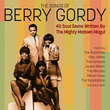 The Songs of Berry Gordy - Jackie Welson Supremes Miracles 2 CD Ex/ex B4