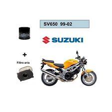 Cyleto Filtre /à huile pour SV650 1999-2009 SV 650 S 1999 2000 2001 2002 2003 2004 2005 2006 2007 2008 2009 2010
