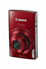 Canon PowerShot ELPH 190 IS (Red) with 10x Optical Zoom and Built-In Wi-Fi