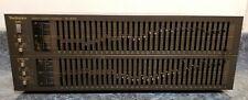 Vintage Technics SH-8065 33 Band Equalizer Rare 1980's M.I.J