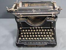 ANTIQUE UNDERWOOD STANDARD 1926 VINTAGE TYPEWRITER