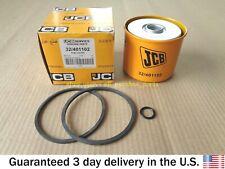 JCB BACKHOE - GENUINE JCB FUEL FILTER ELEMENT W. O RINGS (32/400701 32/401102)