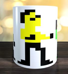 Bruce Lee Retro computer game Mug (Commodore,  Atari etc)