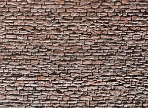 FALLER HO SCALE 1/87 CUT STONE SHEET SLATE SHEET (1)   BN   170618
