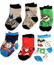 Superhero Baby Socks Pack Of 6 Infant Warner Bros Batman Superman Justice League