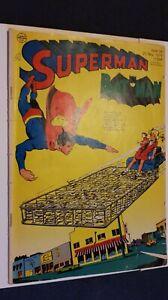 Supermann Nr.24 von 1971,Zst.2-3 o.SM.Ehapa,Comic,Superhelden,Sammlung,Vintage