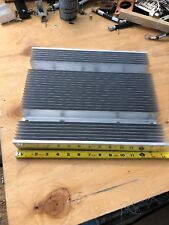 Used large finned aluminum heat sink- measure 13-3/4 X 11-3/4 X 2-1/4