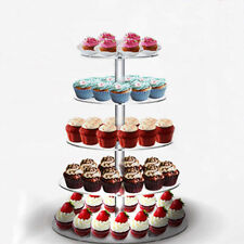 5 Niveaux Gâteau Stand Plateau Rond de mariage/anniversaire fête Présentoir