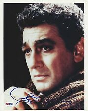 Plácido Domingo Signed 8x10 Photo - PSA/DNA # Y98700