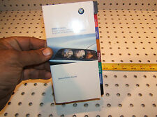 New listing Bmw 5 Series E39 1998 owner's Quick Check small Guide Oem 1 Booklet, E39 1998