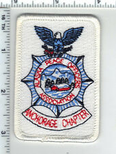Alaska Peace Officer's Association Anchorage Chapter Member Patch