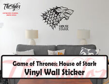 Game of Thrones House of Stark Banner Logo Vinyl Wall Sticker