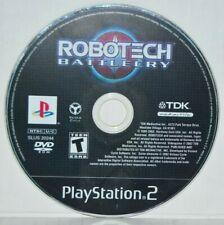Robotech: Battlecry (Sony PlayStation 2, 2002) Ps2 Video Game Black Label Mint