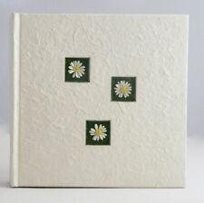 Daisy White Cream Mulberry Photo Album Anniversary Wedding Gift 200 sleeve slip