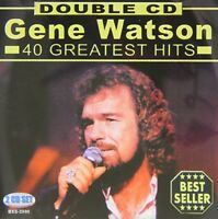 Gene Watson - 40 Hits [New CD]