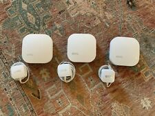 Eero Pro 1st Gen Mesh WiFi Routers or Extenders White A010001--Lot of 3