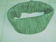 Mehrfarbige Damen-Strickschals aus 100% Wolle