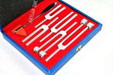 6 Tuning Fork Set Medical Chiropractic Physical Diagnostic Instruments Withhard Cs