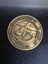 Authentic Vintage No.276, Pelicanus Excellere14th Military Airlift SQ  Coin -512