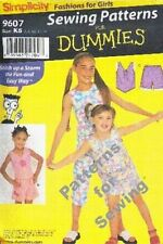 Pattern Simplicity Sewing for Dummies Fashions 4 Girls Sz 7-14 Sunner NEW