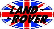 Union Jack Land Rover Badge Defender td5 Sticker #2