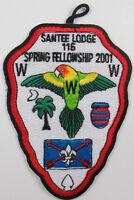 OA Lodge 116 Santee eA2001-1, Fdl; Spring Fellowship  [D1790]