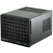 SilverStone Technology Ultra Compact Mini-ITX Computer Case with Mesh Fro... New