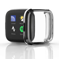 Silicona Funda Protectora Cubierta de Reloj para Fitbit Versa 2 Watch Cover Case