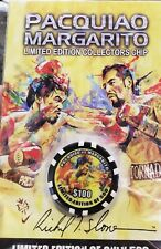 Pacquiao Vs Margarito Limited Edition Boxing Chip by Richard T. Slone