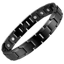 Magnetic Bracelet Arthritis Pain Relief Therapy women men energy strength stress